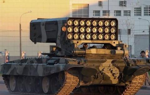 这种火箭炮只有俄罗斯服役,火力恐怖,别无分号