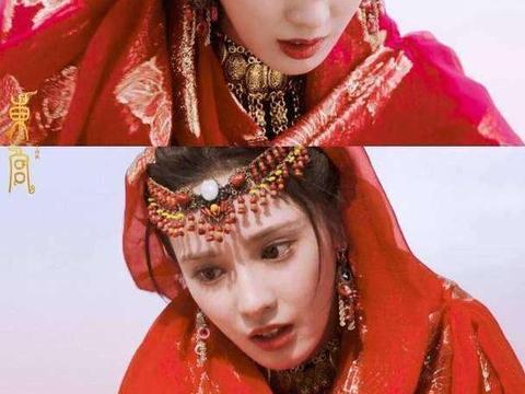 惊艳了时光的红衣女神,彭小苒赵露思谭松韵张榕容,谁最有魅力?