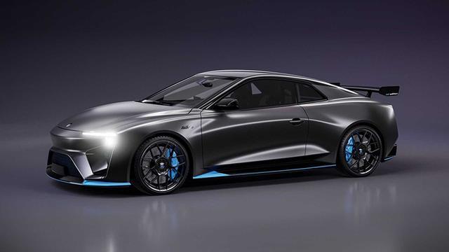 甲醇燃料跑车/限量500台爱驰推进Nathalie燃料电池车型量产