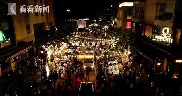 """夜经济观察:""""网红""""大学路的夜间集市 如何做到不扰民?"""