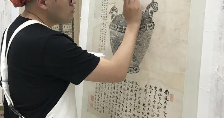 """山东博物馆,有一群80后""""文物修复师"""""""