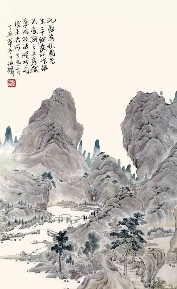 生前做了32年银行小职员,去世7年后震撼中国画坛