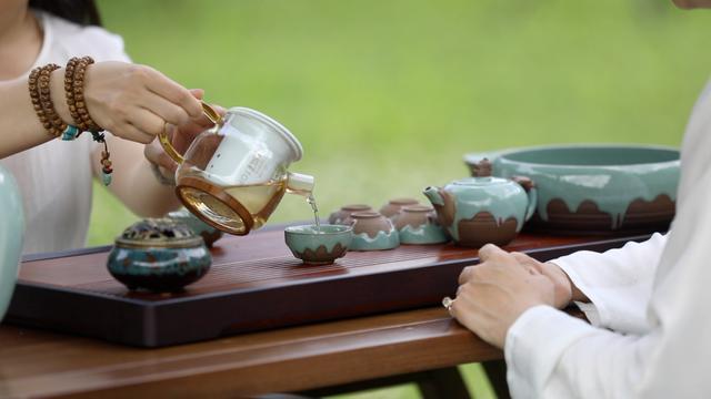 云水禅茶,以茶洗心——九华佛茶,云水别院请你来茗茶