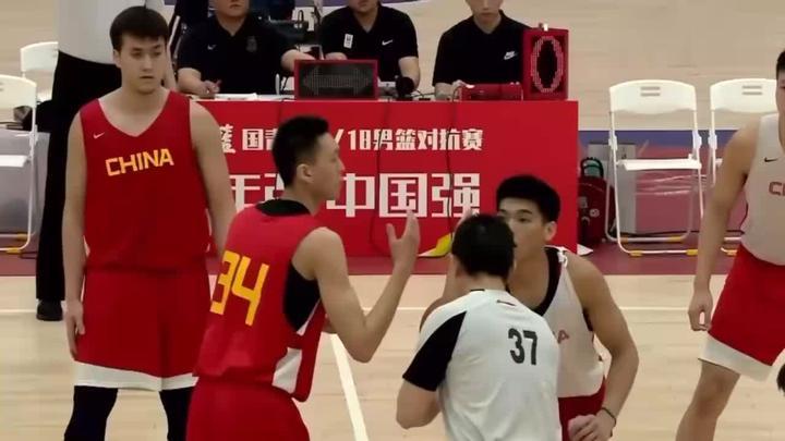 """中国""""卡帕佐""""!国青男篮对抗赛马志轩精彩集锦"""