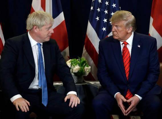 特朗普回应英国首相病情恶化:全美国人都会为他祈祷