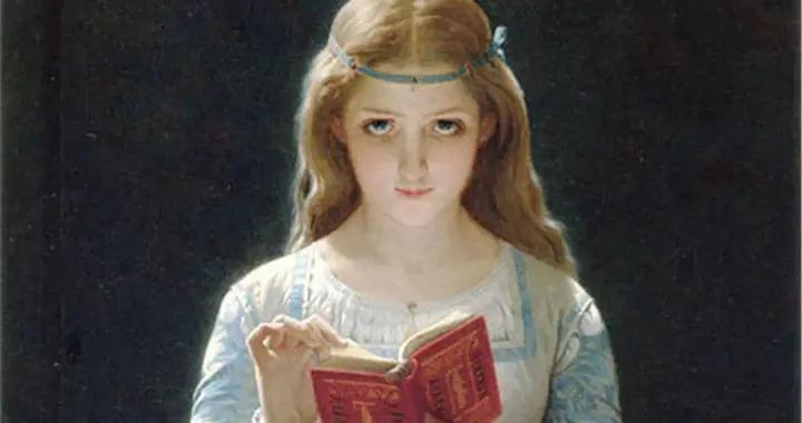 法国学院派画家皮埃尔·奥古斯特·考特人物肖像作品欣赏