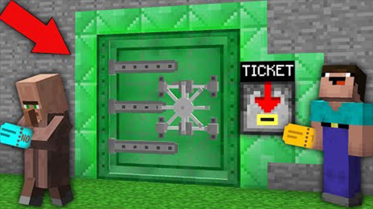 我的世界动画短片:NOOB赢得了这个秘密的绿色掩体的幸运彩票