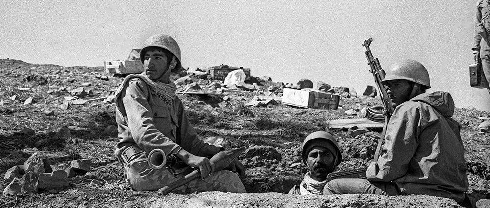 两伊战争中的伊朗军队  见证了战争的残酷