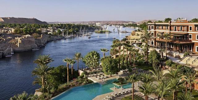 埃及不止有金字塔,还有尼罗河畔的阿斯旺,碧水蓝天神庙应有尽有