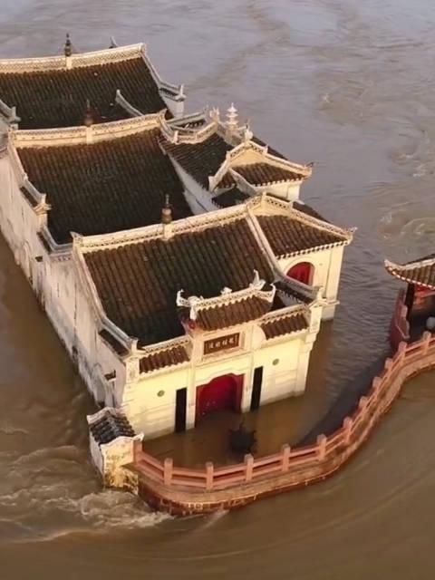 最坚强的古建筑,鄂州观音寺,屹立于长江700年