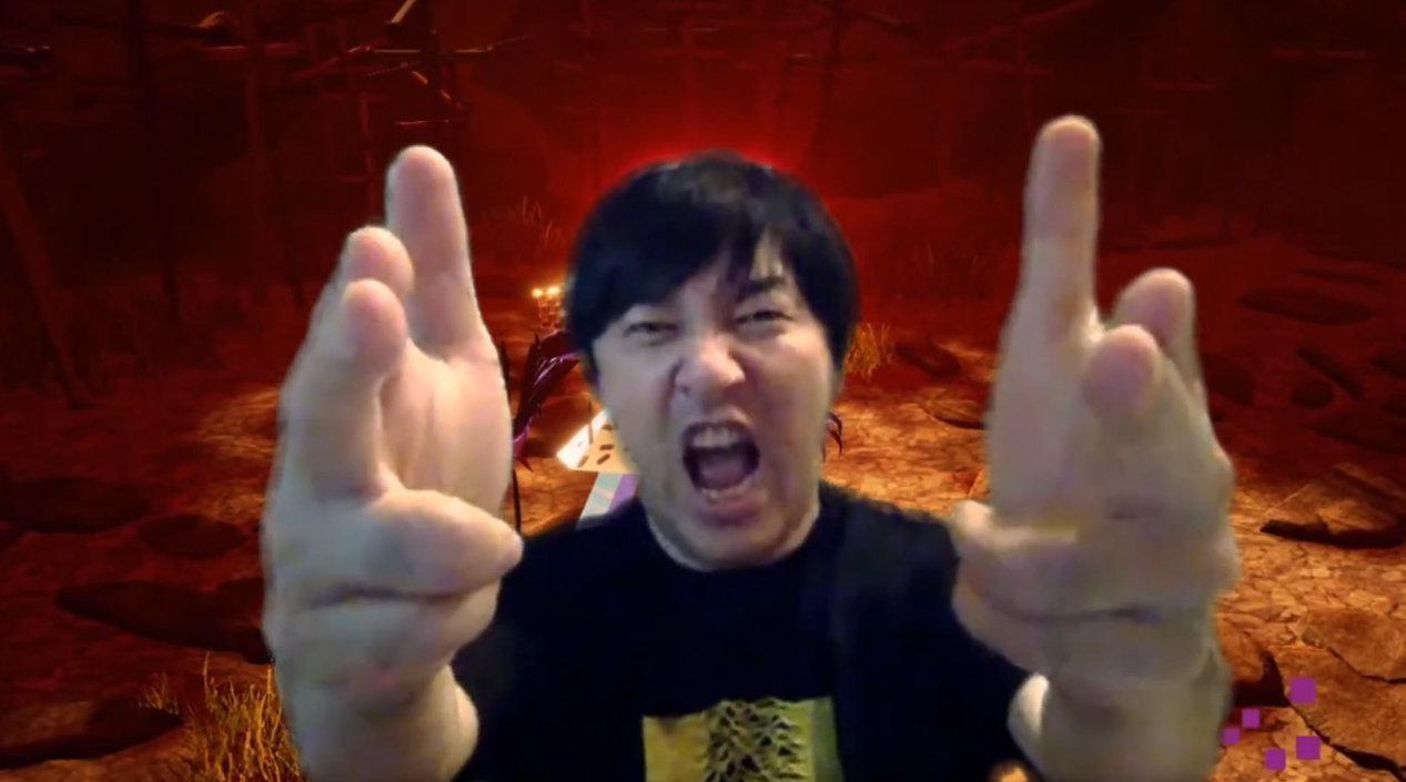 须田刚一今天带来了一段《英雄不再 3》实机画面演示(大概)...