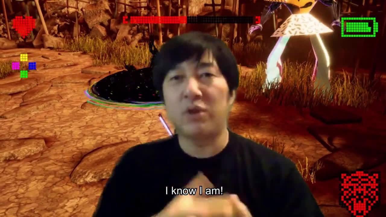 《英雄不再3》公布首个实机演示 SUDA51抢镜