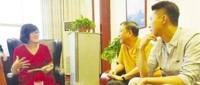 著名导演高希希、著名演员王雷走进南阳日报文化会客厅,畅谈电视剧《乡村第一书记》