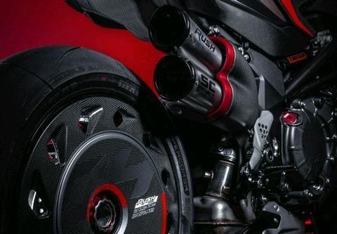 6月份已投入生产的Rush1000,MV奥古斯塔又一部限量版超级街车