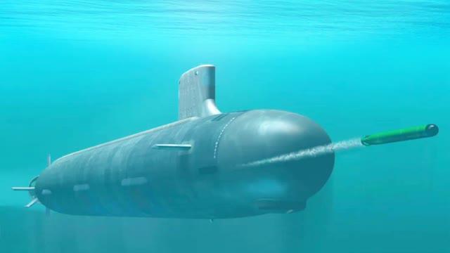"""美军欲建造50艘""""虎鲸""""大型无人潜艇"""