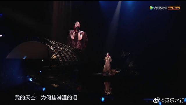 天空-王菲幻乐一场演唱会 那时候还叫王靖雯的她……