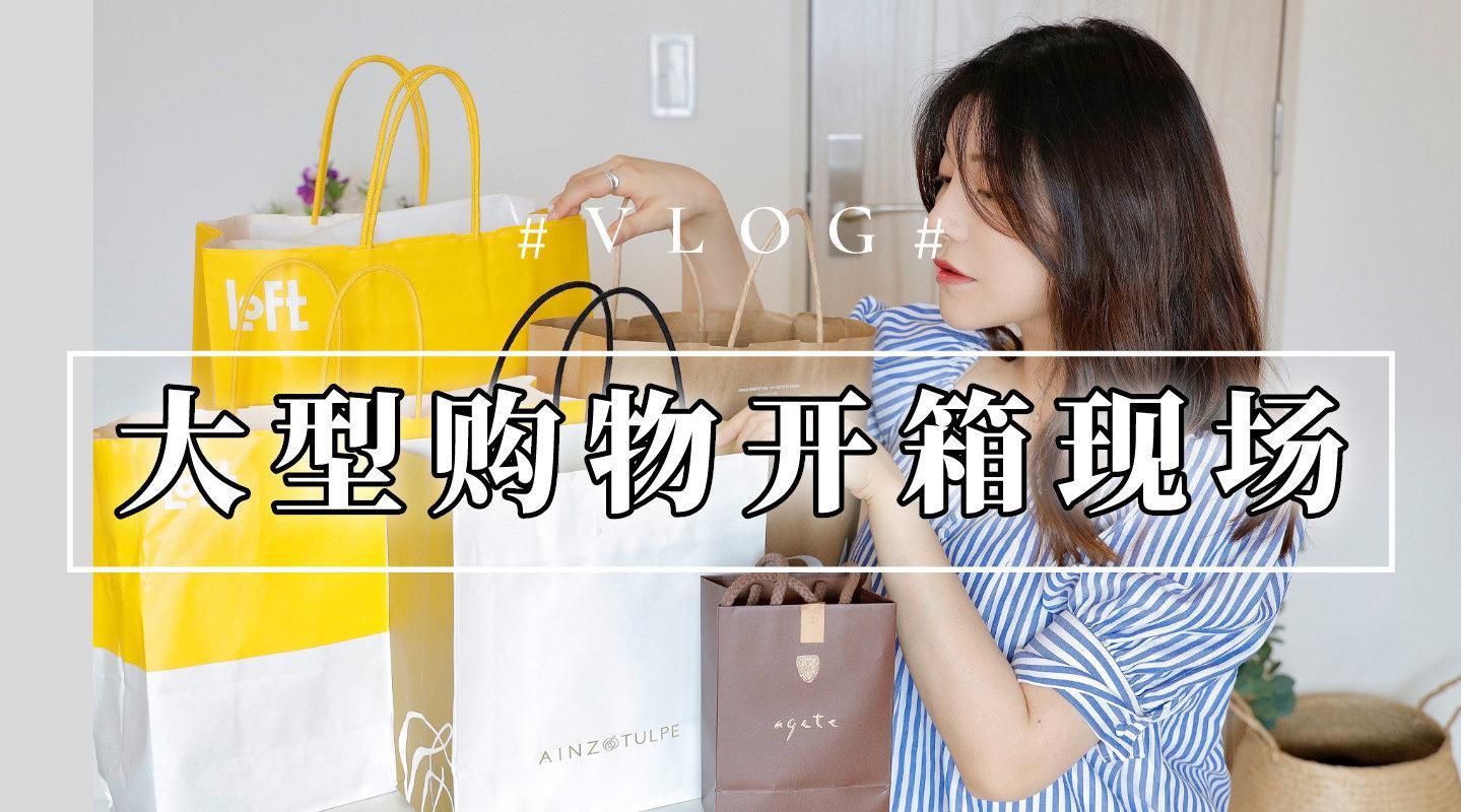 大型购物开箱|日韩系药妆|眼影唇膏|日牌女装|小众轻奢饰品|和式