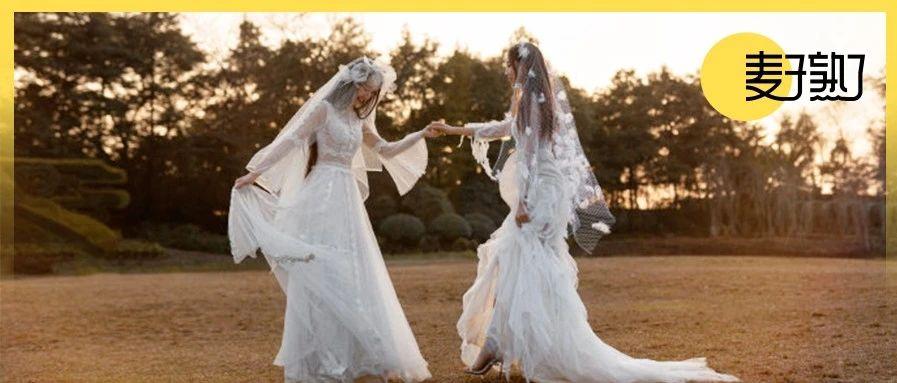 「两个女孩的婚礼」冲上热搜,我却看到了同性之爱最心酸的一幕