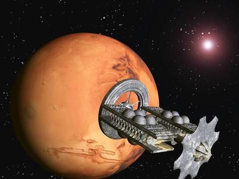 人类去往火星时,如果中途没燃料了,宇宙飞船会停在太空中?