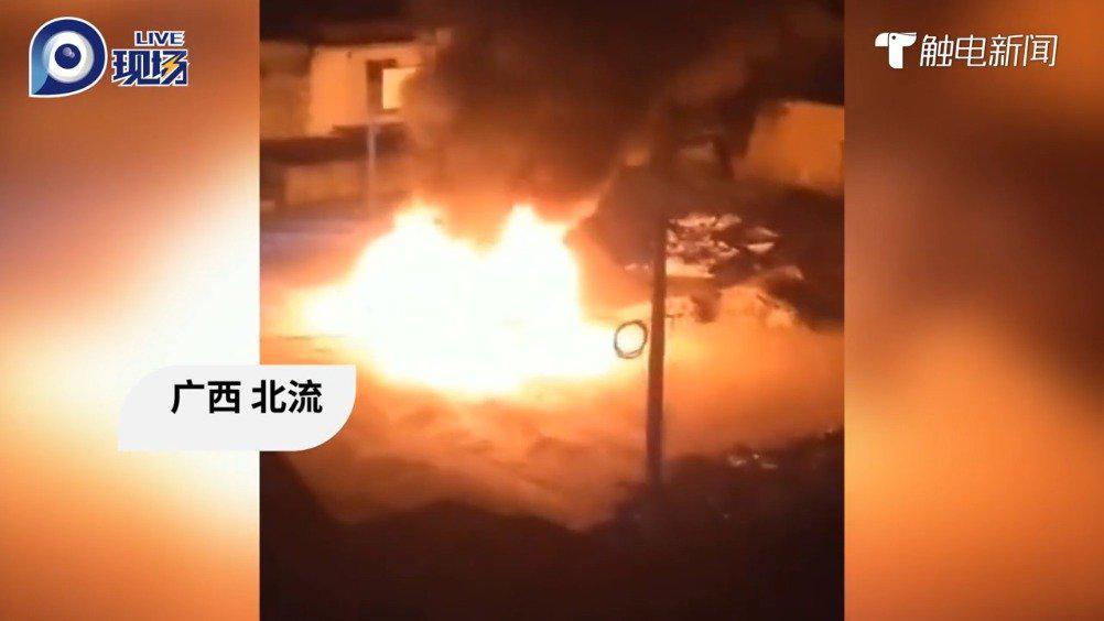 广西北流杀妻焚车嫌疑人被抓获!亲属:当时他疑似服用了药物……
