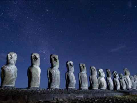 曾生活在复活节岛上的人,为何要雕刻巨型雕像,有什么寓意?