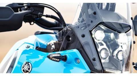 致敬达喀尔,雅马哈发布Tenere 700拉力版,配色亮了