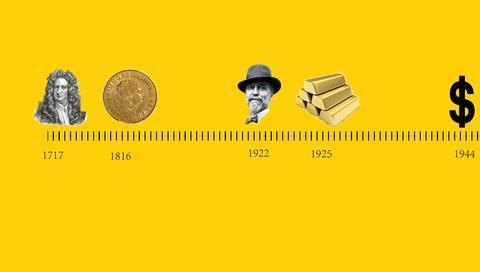 金本位150年兴衰史