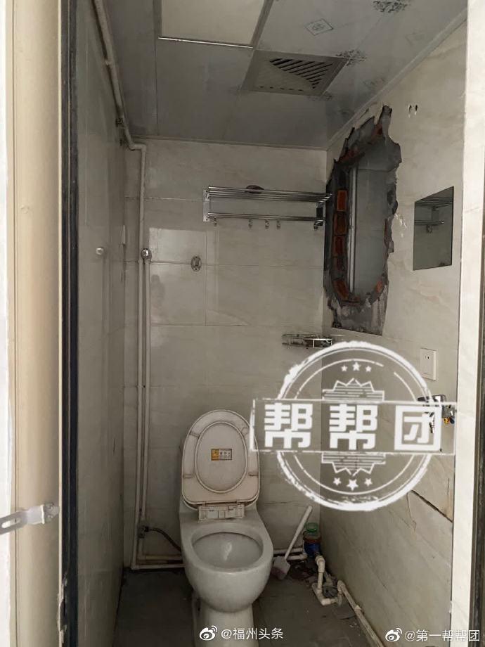 福州 一住户头顶群租房,渗水噪音样样来!