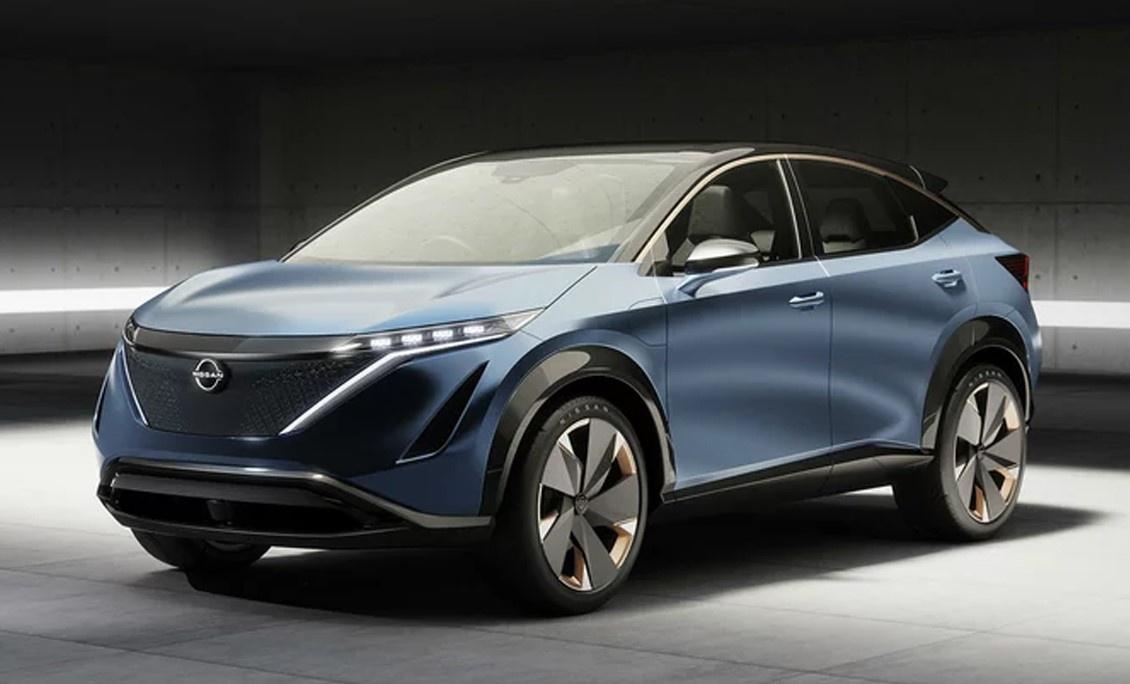 或7月15日发布/外观具未来感 全新日产纯电动SUV车型预告图曝光