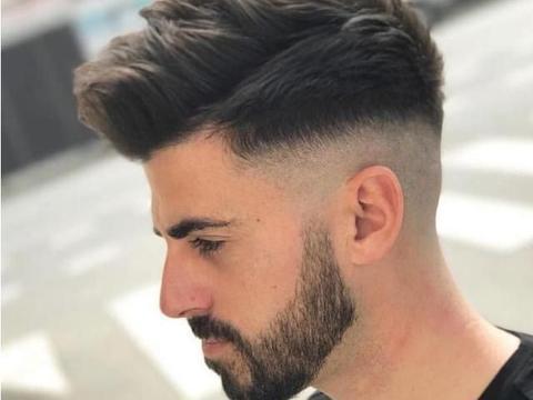 要想当潮爸,得从头做起,这7款男士发型干净帅气总有一款适合你
