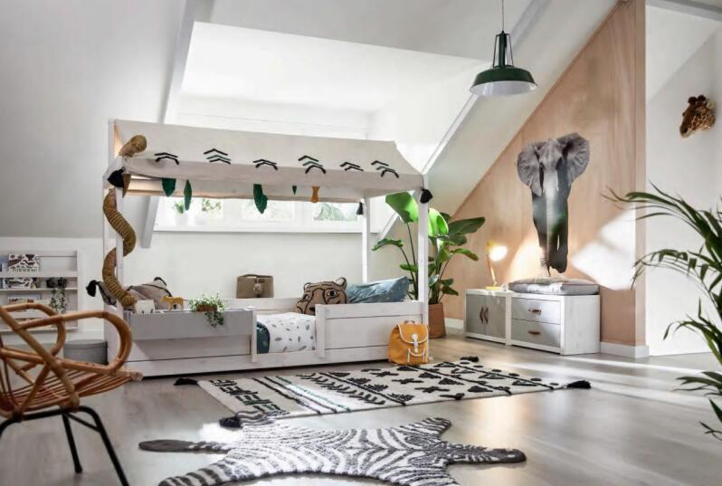 三款丹麦儿童家具lifetime装修效果图体验丛林生活吧
