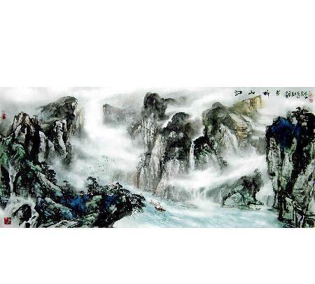 著名军旅画家马堪岱先生国画作品精选