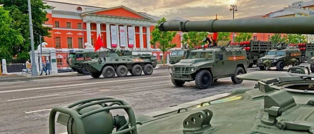 军事迷请进,俄罗斯红场阅兵最新装备