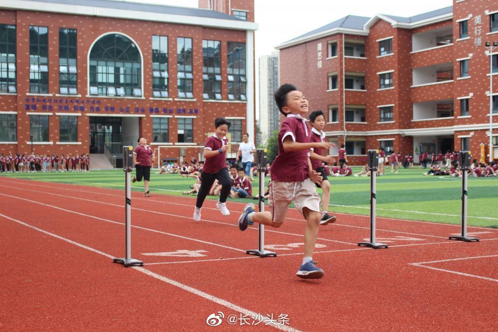 长沙一小学学生体测优秀率过半:将学生的体质健康作为长期坚持