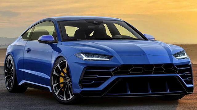 兰博基尼高性能轿跑车渲染图曝光换脸的奥迪RS7
