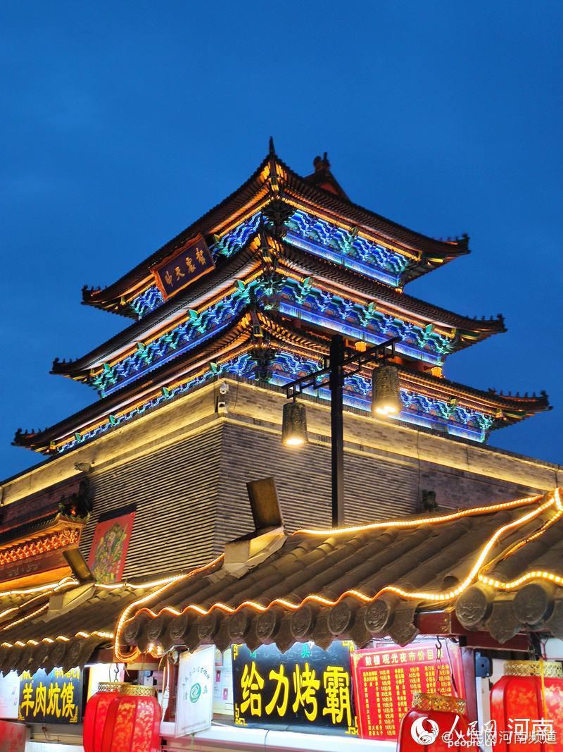 """河南开封:美食成了恢复夜经济的""""密钥"""""""