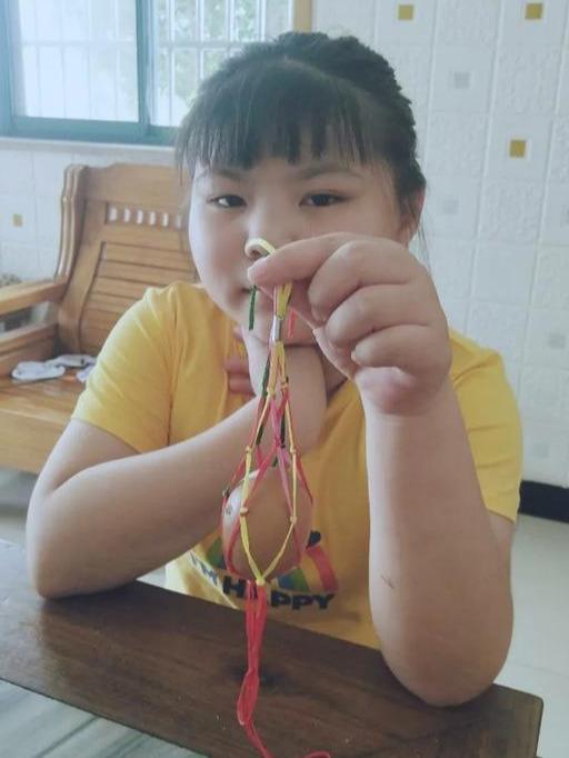 江苏省南京市铜山中心小学孩子们的别样端午节