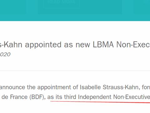 独家   LBMA一场人事任免,竟牵扯出黄金市场无数操纵丑闻?