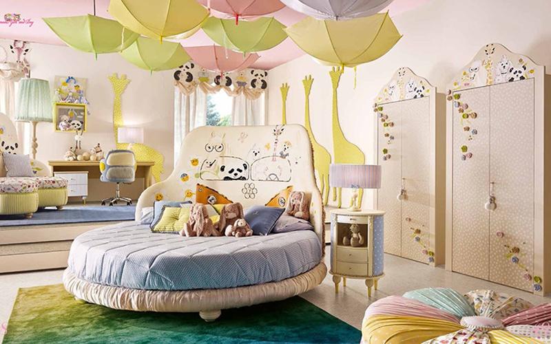三组环保儿童家具图片给孩子更加绚烂的童年