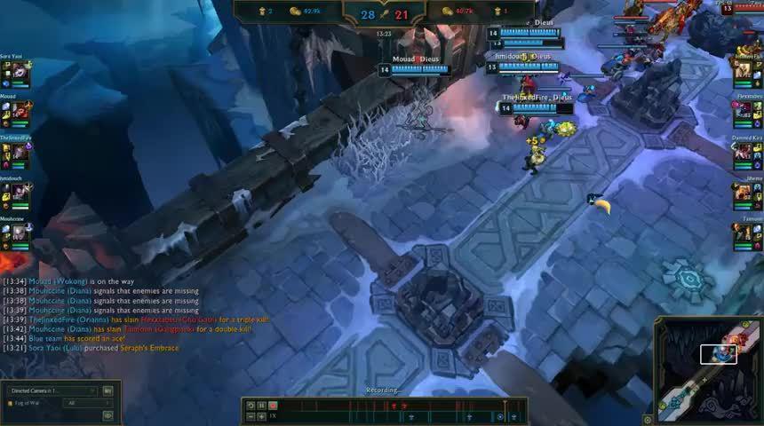 LOL:大乱斗里的完美团战配合,亚索脸都笑歪了