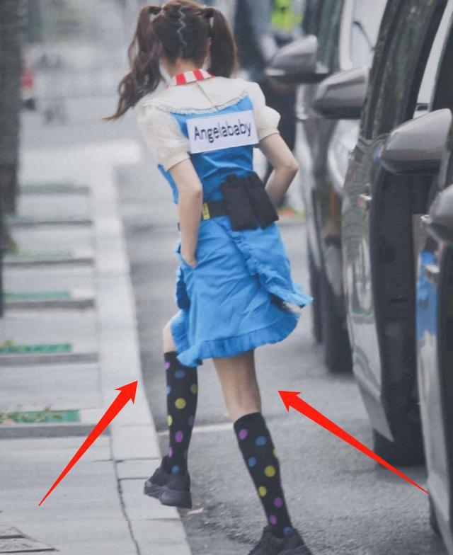 baby录跑男路透被传开,离开了后期修图,这双腿是认真的吗?