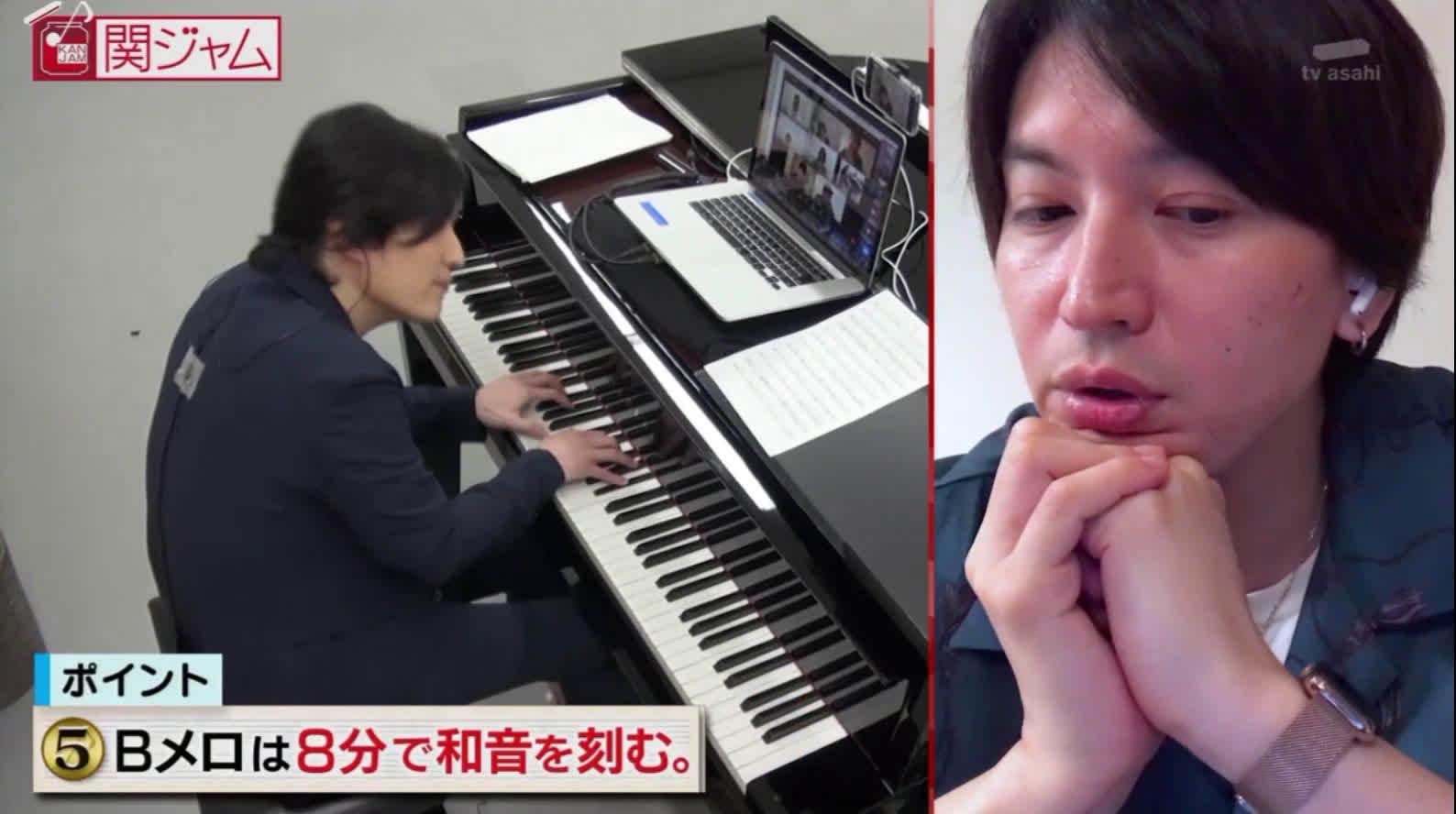 20200628 関ジャム 大阪ロマネスク (編曲及鋼琴演奏/ 清塚信也)