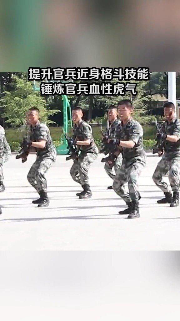 西部战区陆军刺杀训练现场杀声震天