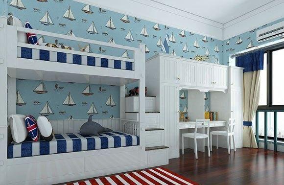 9套不同风格的儿童房装修设计,美观又实用,小朋友的童话王国!