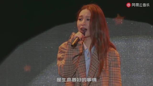 田馥甄现场演唱《小幸运》……