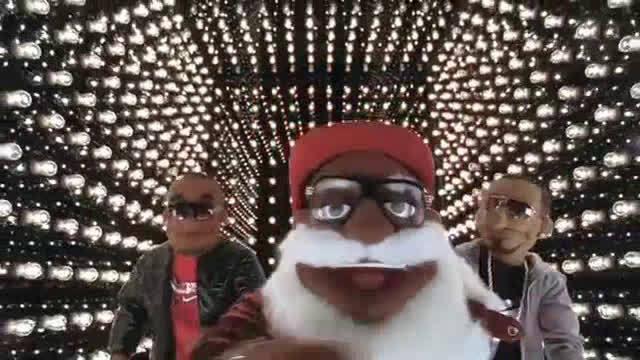 科比与詹姆斯 人偶广告 第二十支Santa Rap 圣诞节特辑 接着上一
