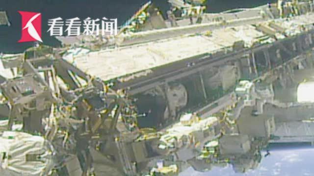 太空垃圾又多一件 国际空间站宇航员出舱行走弄丢小镜子