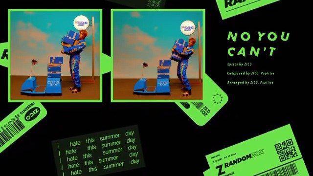发布了夏季专辑《RANDOM BOX》的HIGHLIGHT MEDLEY……