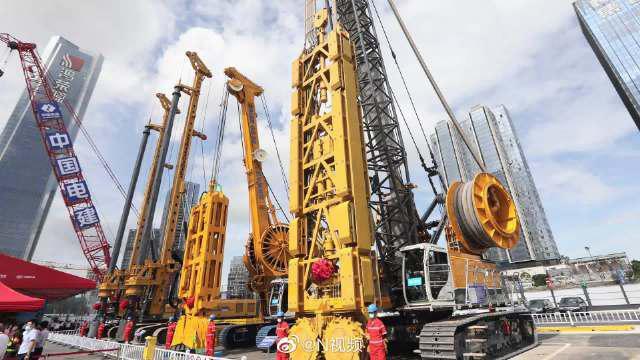 穗莞深城际铁路深圳机场至前海段工程开工……