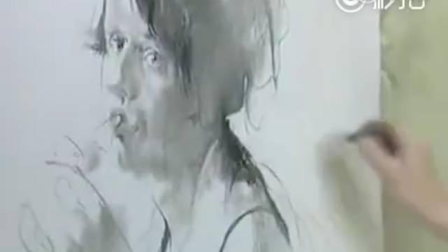 俄罗斯素描大师尼古拉布洛欣,中国学生对他太熟悉了……